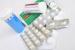 image contenant des médicaments en comprimés, en effervesent de diffréntes formes